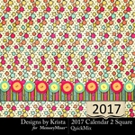 2017 Calendar DBK 2-$5.99 (Designs by Krista)