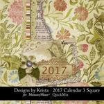 2017 Calendar DBK 3-$5.99 (Designs by Krista)