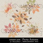 Pretty Autumn Scatterz Pack-$1.99 (Lindsay Jane)