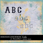 Life Collection Alphabet Pack-$2.99 (Laura Burger)
