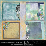 Life Collection Stacked Paper Pack-$4.99 (Laura Burger)