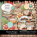 Weird Holidays Oct Dessert Day Combo Pack-$6.99 (Fayette Designs)