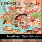 Weird Holidays Oct World Smile Day Combo Pack-$6.99 (Fayette Designs)