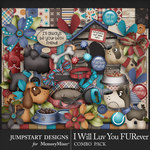 I Will Luv You FURever Combo Pack-$8.99 (Jumpstart Designs)