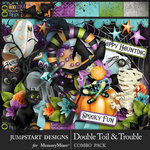 Double Toil and Trouble Mini Kit-$8.99 (Jumpstart Designs)