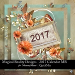 2017 Calendar MR-$5.99 (MagicalReality Designs)