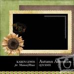 Autumn Afternoon QuickMix-$3.99 (Karen Lewis)