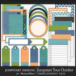 Jumpstart Your October Journal Bits-$2.80 (Jumpstart Designs)