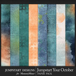 Jumpstart Your October Paper Art Pack-$2.80 (Jumpstart Designs)
