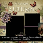 Warm Autumn Winds QM-$3.49 (Jumpstart Designs)