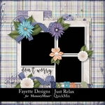 Just Relax QuickMix-$3.49 (Fayette Designs)