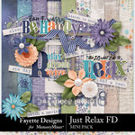 Just Relax FD Mini Kit-$3.49 (Fayette Designs)