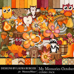 My Memories October Combo Pack-$5.59 (Laura Burger)
