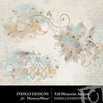 Fall Memories Accents Pack-$2.10 (Indigo Designs)