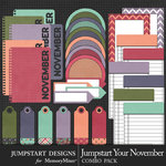 Jumpstart Your November Journal Pack-$3.99 (Jumpstart Designs)