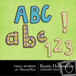 Beanie Halloweenie Alphabet Pack-$1.00 (Traci Murphy)