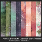 Jumpstart Your November Paper Art Pack-$3.99 (Jumpstart Designs)