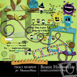 Beanie Halloweenie Embellishment Pack-$3.00 (Traci Murphy)