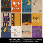 Fangtastic Halloween LJ Journal Cards-$1.99 (Lindsay Jane)