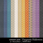 Fangtastic Halloween LJ Pattern Papers-$1.99 (Lindsay Jane)