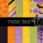 Boo to You Paper Pack-$3.50 (Paula Phillips)