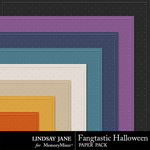 Fangtastic Halloween LJ Embossed Papers-$1.99 (Lindsay Jane)