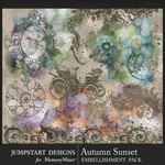 Autumn Sunset Accents Pack-$3.99 (Jumpstart Designs)