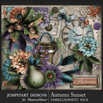 Autumn Sunset Add On Pack-$4.99 (Jumpstart Designs)