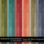 Leave No Door Unopened Solid Papers-$2.99 (Laura Burger)