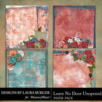 Leave No Door Unopened Stacked Papers-$4.99 (Laura Burger)