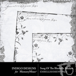 Song of the Bluebells Borders Pack-$3.49 (Indigo Designs)