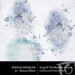 Song of the Bluebells Accent Pack-$2.99 (Indigo Designs)