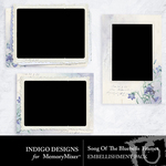 Song of the Bluebells Frames Pack-$2.99 (Indigo Designs)