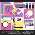 Our Magical Place 2 Journal Bits Pack-$3.99 (Jumpstart Designs)