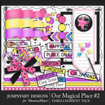 Our Magical Place 2 Bits and Pieces Pack-$3.99 (Jumpstart Designs)