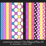 Our Magical Place 2 Paper Pack-$3.99 (Jumpstart Designs)