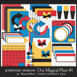 Our Magical Place 1 Journal Bits Pack-$3.99 (Jumpstart Designs)