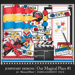 Our Magical Place 1 Bits and Pieces Pack-$3.99 (Jumpstart Designs)