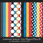 Our Magical Place 1 Paper Pack-$3.99 (Jumpstart Designs)