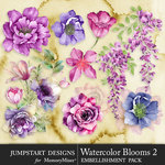 Watercolor Blooms 2-$4.99 (Jumpstart Designs)
