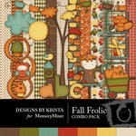 Fall Frolic Combo Pack-$4.99 (Designs by Krista)