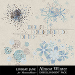 Almost Winter Scatterz Pack-$1.99 (Lindsay Jane)