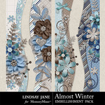 Almost Winter Border Pack-$1.99 (Lindsay Jane)