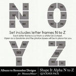 Shape It Alpha N to Z QM-$7.49 (Albums to Remember)