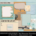 My Memories November Pocket Pieces-$3.99 (Laura Burger)