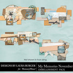 My Memories November Borders Pack-$4.99 (Laura Burger)