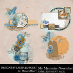 My Memories November Clusters Pack-$4.99 (Laura Burger)