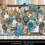 My Memories November Combo Pack-$7.99 (Laura Burger)