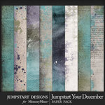 Jumpstart Your December Paper Art Pack-$2.80 (Jumpstart Designs)