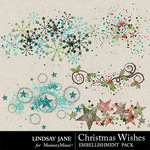Christmas Wishes LJ Scatterz Pack-$1.40 (Lindsay Jane)